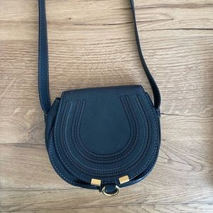 Authentic Chloe Mini Marcie Leather Crossbody Bag